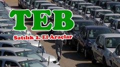 TEB'den Satılık İcralık Araçlar
