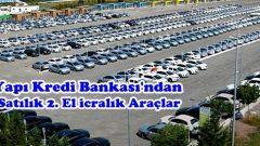 Yapı Kredi Bankasından Satılık 2. El Araçlar