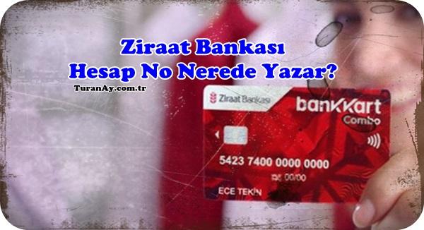Ziraat Bankası Hesap No Nerede Yazar?   Bankacılık Bilgileri